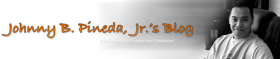 Johnny B. Pineda, Jr.'s Blog